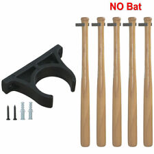 5×Mini-Single Bat Rack Vertical Display Rack Wall Hanger, Nylon Clip w/Screw