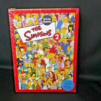 The Simpsons 2 Trivia Board Game 2001 Bart Homer Marge 32970 Cardinal Groening