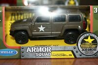 HUMMER - H 3 MILITARE - SCALA 1/38 WELLY