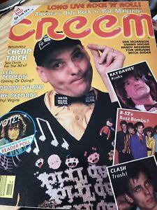 Creem Magazine 1979 Cheap Trick The Clash Led Zeppelin B-52's Ray Davies Kinks