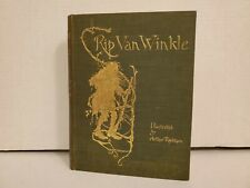 Rip Van Winkle Illustrated By Arthur Rackham Doubleday-Heinemann 1st Ed. 1905
