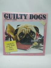 Dateworks 2021 Guilty Dog Wall 16-Month Calendar - Funny Dogs