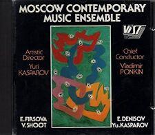 Moscow Contemporary Music Ensemble Elena Firsova, Yuri Kasparov, Vladisla.. [CD]