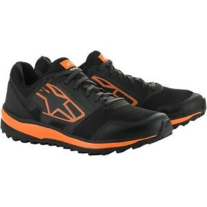 Alpinestars - Meta Trail Shoes US Size: 11 Color/Finish: Black / Orange / White