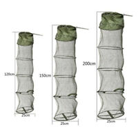 5-Layers Floating Basket High Capacity Collapsible Fish Net Cage For Fishing