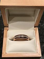 18 Carat Rose Gold Wedding Band, 2.75ct Diamond Full Eternity Ring, Size V