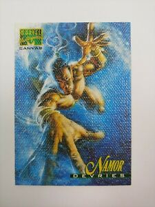 1995 Marvel Masterpieces Series 4 Canvas Chase Card #14 of 22, Namor! NM!