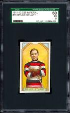 1911-12 C55 Imperial Tobacco #15 Bruce Stuart SGC 60