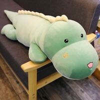 59 Inches Lovely Dinosaur Plush Toy Soft Stuffed Doll Pillow Kids Birthday Gift