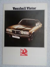 Vauxhall Victor Saloon brochure 1974 - 1800 and 2300