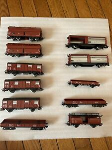 Marklin Life Like Ahm Walthers Rail Ho Scale  Freight Cars Lot of 11  (tr49