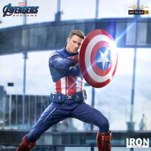 Iron Studios 1/10 Captain America 2023 Ver. Avengers Endgame Figure Statue Toy
