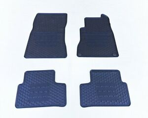Rugged Rubber Floor Mats Tailored for Mercedes-Benz A-Class W177 2018-21 Odoules