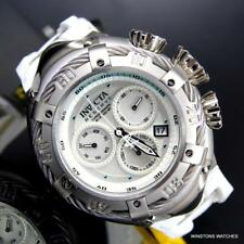 Invicta Reserve Thunderbolt Arctic Edition White Swiss Mvt Chrono 52mm Watch New