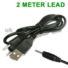 2m USB Cable Lead 5V Charger for Roberts Sports DAB2 Radio DAB 2