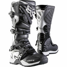 Fox COMP 5 MX Motocross Offroad Boots Black Youth Kids Size Uk 13 Us 1 was £169