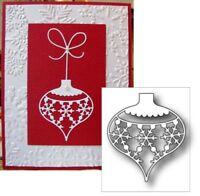 Christmas Snowflake Ornament Metal Die Cut Set Memory Box Steel Cutting Dies