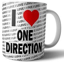 I Love One Direction  Tea - Coffee - Mug - Cup Birthday - Christmas - Gift