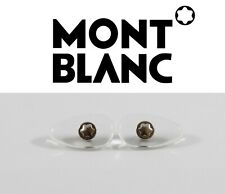 MONT BLANC Eyeglasses Sunglasses Original Replacement Screw-in Nose Pads SILVER