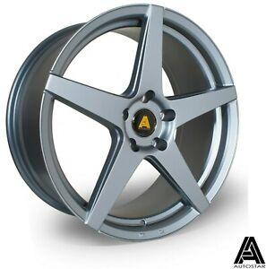 "19"" Autostar Chicane Alloy Wheels 5x120 WIDER REAR Gunmetal fits BMW 3 Series"