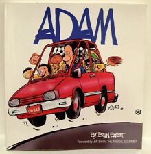 """ADAM"" Softcover Comic Strip Reprint/Humor Book by BRIAN BASSET 1989"