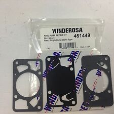 MIKUNI RECTANGULAR SINGLE FUEL PUMP REPAIR KIT WINDEROSA BRAND NEW QTY OF 1