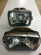 1984-2001 Jeep Cherokee XJ Headlamp Head Light Assembly conversion pair