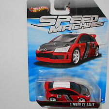 FERMAR4020 Citroen C4 Rally B-94  Speed Machines  Hot Wheels  1:64