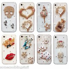 NEW BLING DELUX DIAMANTE SPARKLE DRESS CASE COVER FOR SAMSUNG iPHONE SONY HTC UK