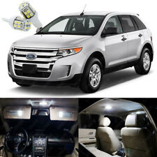 14 x Pure White LED Interior Light Package Deal Kit For Ford Edge 2007 - 2014