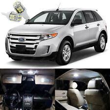 14 x Xenon White LED Interior Light Package Deal Kit For Ford Edge 2007 - 2014