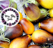 Tomate INDIGO PEAR DROPS Tomatensamen 10 Samen seltene Flaschentomate Ertrag Top