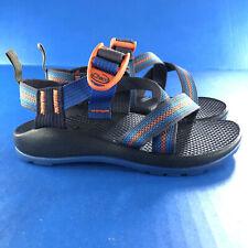 Chaco Z1 Sport water Sandals Boys Girls Youth sz 13 Blue Orange Waterproof Shoes