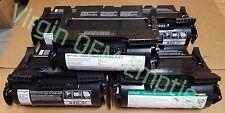 10 Virgin Genuine Empty Dell 5230 Lexmark T650 Toner Cartridges FREE SHIPPING