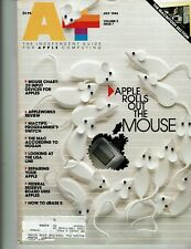 July 1984 A+ Magaine - Apple Rolls Out the Mouse; 2D Input Devices for Apples