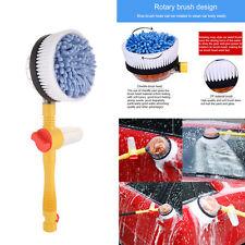 Car Wash Water Flow Foam Brush Automatic Professional Rotating Clean Brush Tool
