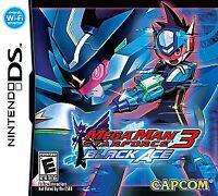 Mega Man Star Force 3: Black Ace (Nintendo DS, 2009) GAME CARTRIDGE ONLY, TESTED