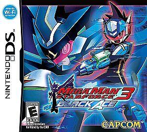Mega Man Star Force 3: Black Ace (Nintendo DS, 2009) GAME ONLY, CLASSIC PLATFORM