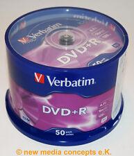 DVD+R 16x SPEED 4,7gb, DVD espacios en blanco 50 pieza ENTRADAS PASTEL CAJA