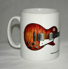 Guitar Mug. Mike Bloomfield's Gibson Les Paul illustration.