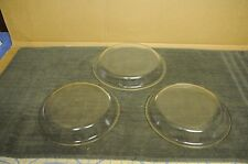 "Lot of 3  Vintage Pyrex  Pie Dishes    #209 - 9 ""  &   #210 -10"""