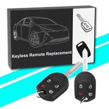 2 For 2011 2012 2013 2014 2015 Ford Edge Keyless Entry Remote Car Key Fob 80 BIT