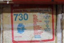 MagneTek Universal Electric Stock# 730 Motor 1/6Hp - 115/208-230V - 1140Rpm