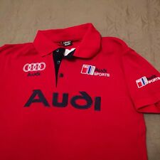 Rojo Audi Original Camiseta para Hombre Anillos
