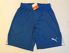 NWT Youth XL YXL Puma Royal Blue / White Team Soccer Shorts