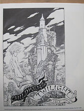 Mike Kaluta portefeuille Children of the twilight portefeuille 1979