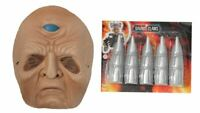 Halloween Mask Dr Who Set and Claws Davros Fancy Dress Up Face Mask Teens/Kids