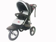 Brand New 3 wheel BLACK Jogger Baby Pram Buggy Baby Stroller Jogger BLACK