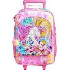 Kids Luggage Unicorn Suitcase for Girls