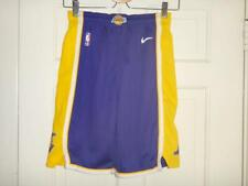 Youth Nike Los Angeles Lakers Purple/Gold Statement Swingman Shorts S (8)